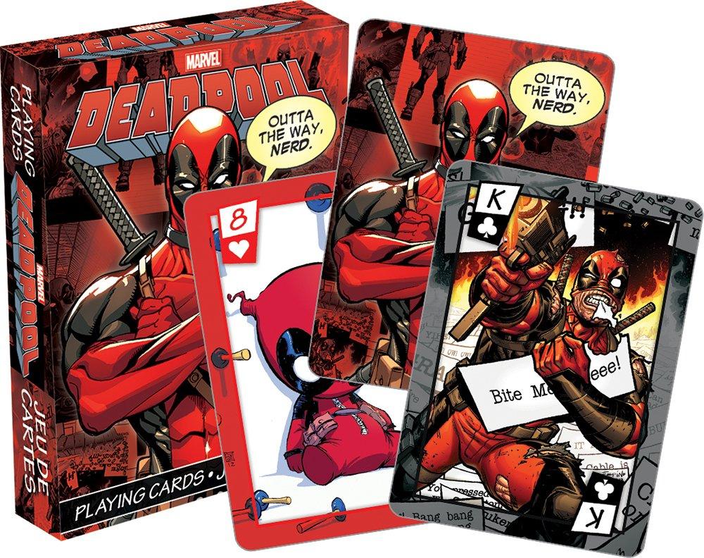 Aquarius Juego de Cartas Marvel Deadpool: Amazon.es ...