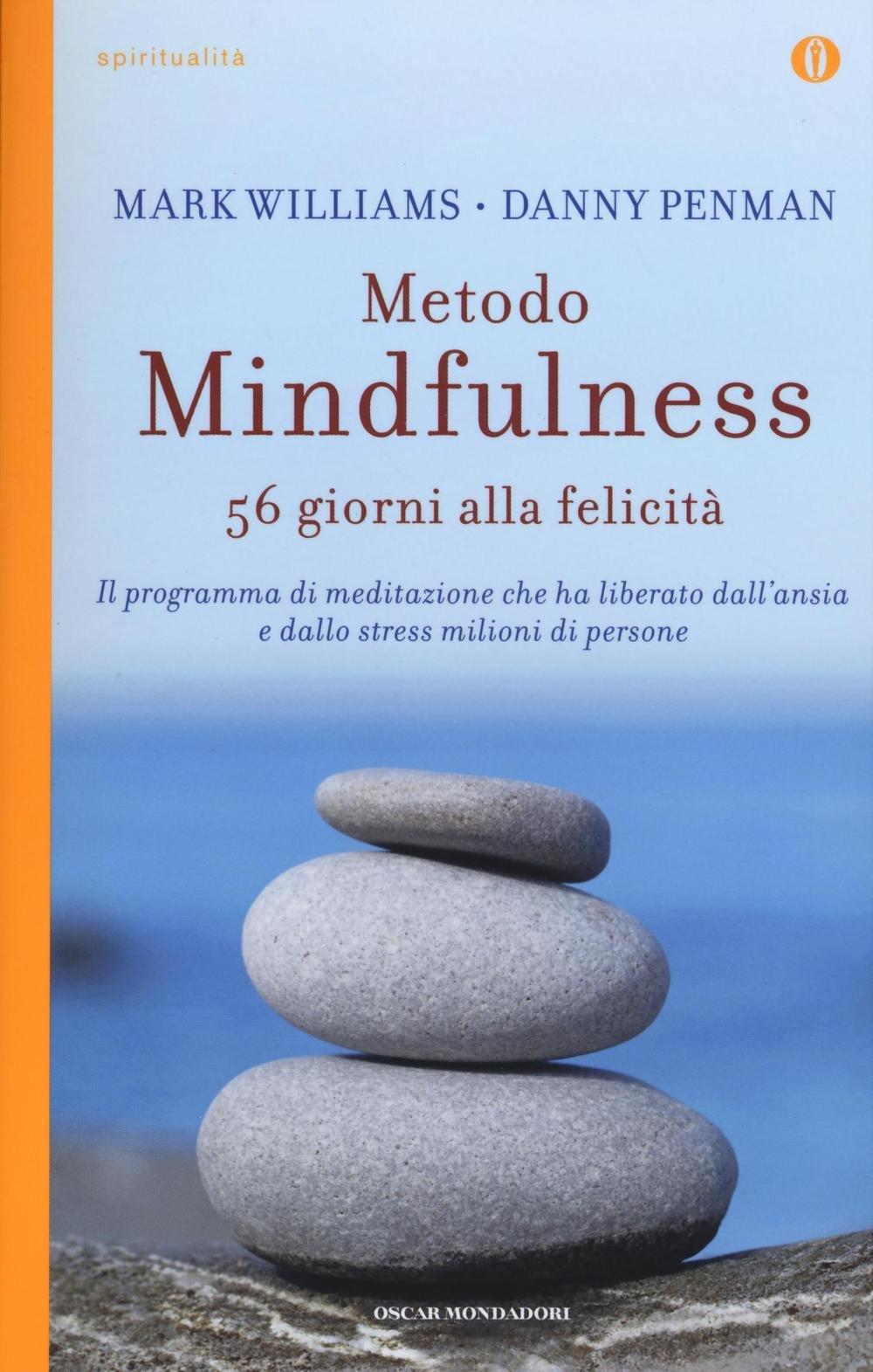 Copertina Libro Metodo mindfulness