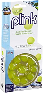 COMPAC HOME Plink Garbage Disposal Cleaner & Deodorizer Infuses and Freshens Your Entire Kitchen Waste Disposal Cleaner Simply Fresh Scent, Value Pack 40 Count, 2 Pack