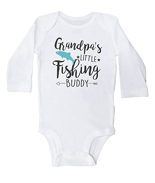 Amazon.com: Grandpa s Little Buddy de pesca/Funny Fish ...