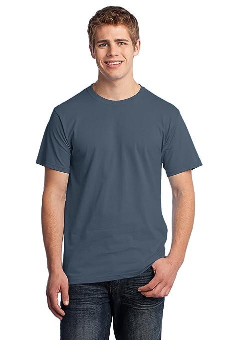c88d43c6a4fd Amazon.com: Fruit of the Loom Rmk HD T-Shirt Aquatic Blue Training ...