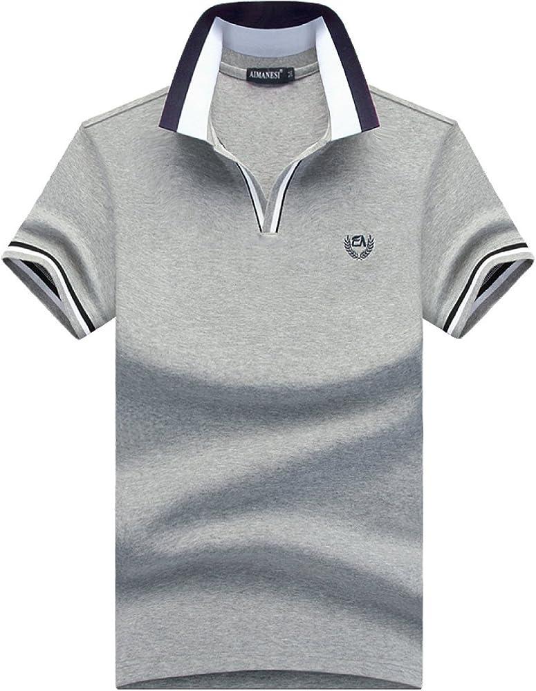 Camisetas Polo para Hombre Camisetas De Manga Corta con Capucha ...