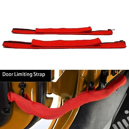 Door Limiting Strap for Jeep Wrangler JK 2007-2018 Door Check Straps on