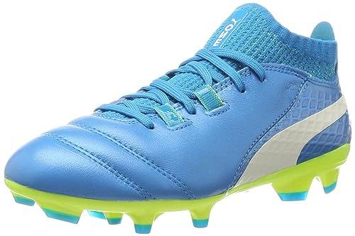 PUMA One 17.1 FG Jr, Chaussures de Football Mixte Enfant