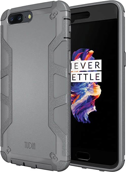TUDIA OnePlus 5 Funda, Tough OMNIX [Heavy Duty] Ultra-Resistente ...