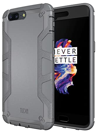 OnePlus 5 Funda, TUDIA Tough OMNIX [Heavy Duty] Ultra ...