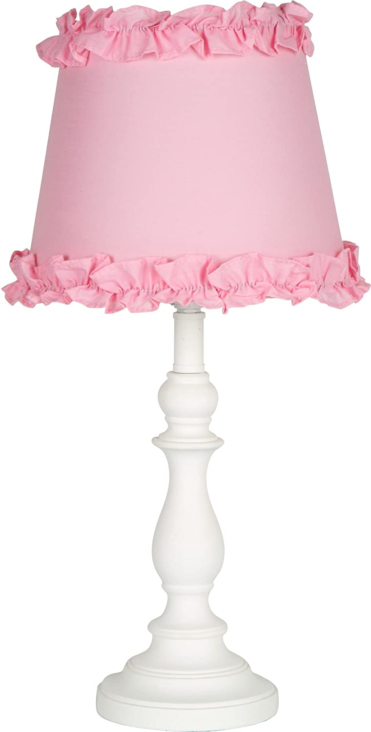 Amazon princess girls table or desk lamp with pink ruffle amazon princess girls table or desk lamp with pink ruffle shade home improvement geotapseo Image collections