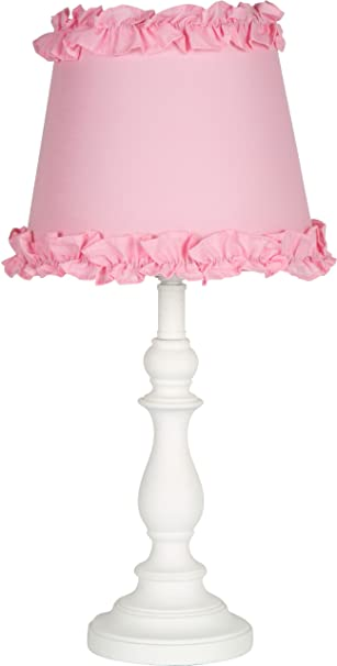 Amazon.com: Princess U0027Girls Table Or Desk Lamp With Pink Ruffle Shade: Home  Improvement