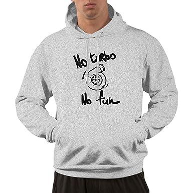 PO1 UP No Turbo No Fun Male Hoodies Sweaters