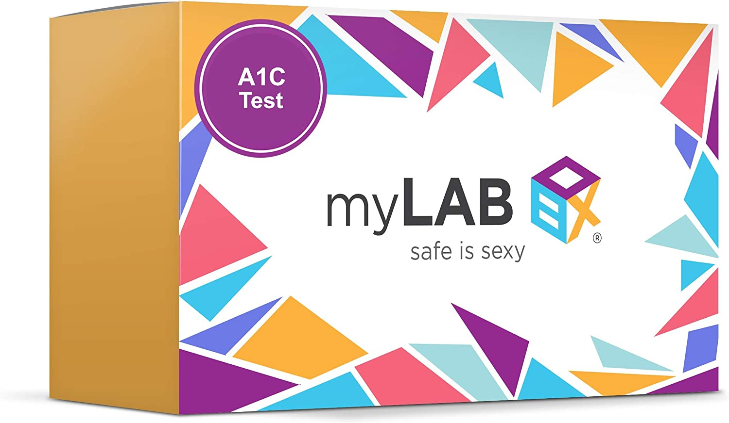 myLAB Box at Home Diabetes Hemoglobin A1c Screening Kit CLIA Lab Certified (Not Available in NY)