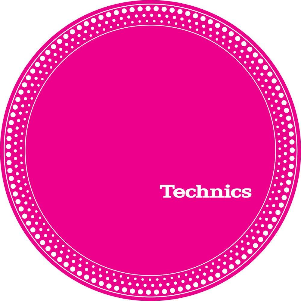 Technics 60664 Strobe 1 Slipmat - White Dots/Pink Magma