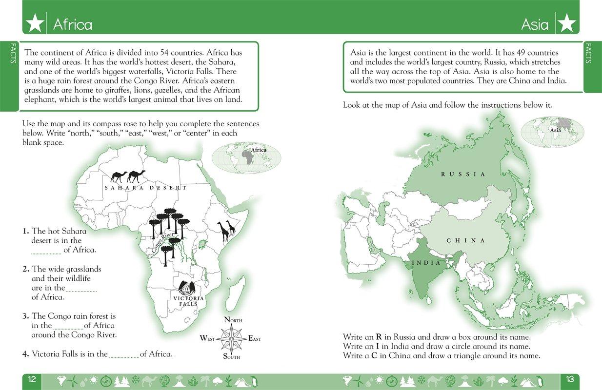 DK Workbooks: Geography, First Grade: DK: 8601422063394: Amazon.com ...