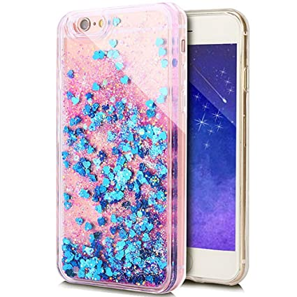 the best attitude 03dd9 df048 Rejected all traditions 3D Liquid Bling Quicksand Glitter Star Love Dynamic  Flowing Soft TPU Case Cover For iPhone 5 5s (Royal Blue Heart)