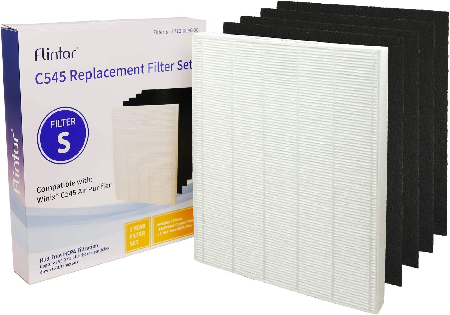 Replacement for Sidco 647-2557WK5 6 id x 9 3//4 od x 14 1//2 oh. Sunshine Filters 20981KP5