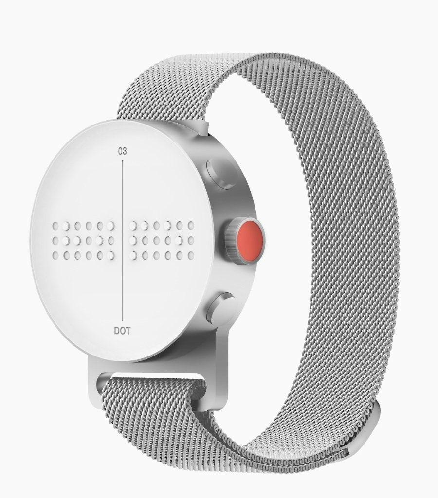 DOT WATCH - Braille & Tactile Smartwatch