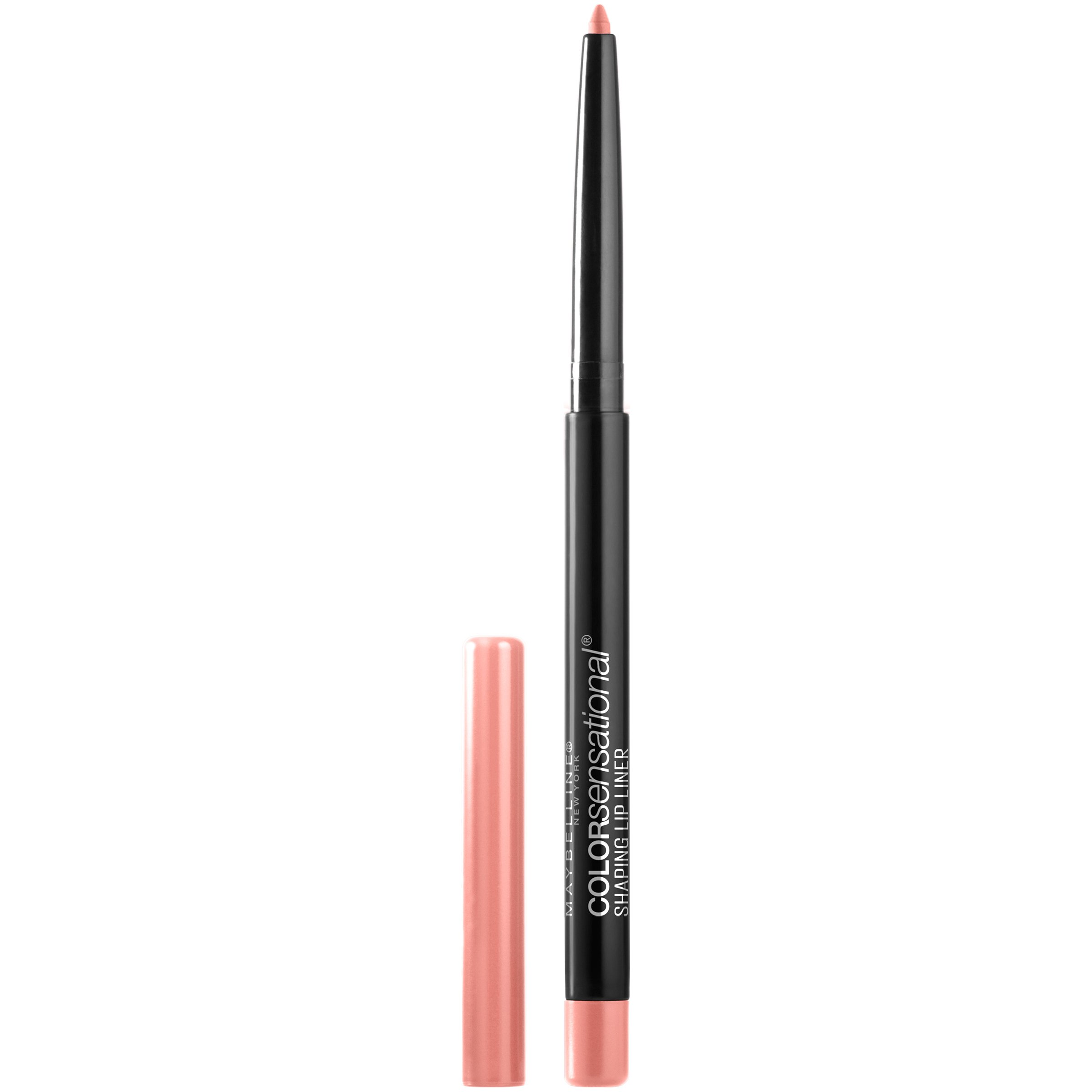 Maybelline Makeup Color Sensational Shaping Lip Liner, Purely Nude, Nude Lip Liner, 0.01 oz