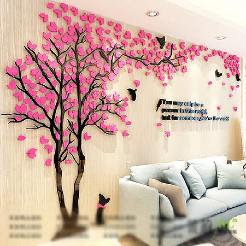 XWH Kreativer Baum   3D   Stereo     Wandaufkleber Wohnzimmer   Sofa TV Hintergrund Wand   Indoor Zimmer   Wasserdicht B07GLGVD7R | Schnelle Lieferung
