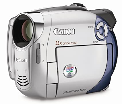 amazon com canon dc210 dvd camcorder with 35x optical zoom rh amazon com Canon XL H1 Canon FS100
