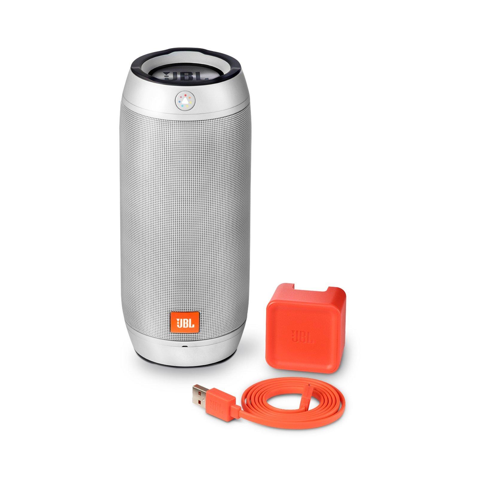 JBL Pulse 2 Portable Splashproof Bluetooth Speaker (Silver) by JBL (Image #4)