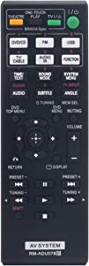 RM-ADU078 Replacement Remote fit for Sony DVD Home Theater System DAV-TZ710 HBD-DZ170 HBD-DZ171 HBD-DZ175 HBD-TZ135 HBD-TZ530 HCD-TZ715 HCD-DZ310 HCD-DZ510 HCD-DZ610 DAV-DZ170 RM-ADU079