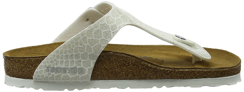 Birkenstock Gizeh Magic Snake Rose Birko-Flor Flat Sandals B074M9M4Z4 37 M EU|White