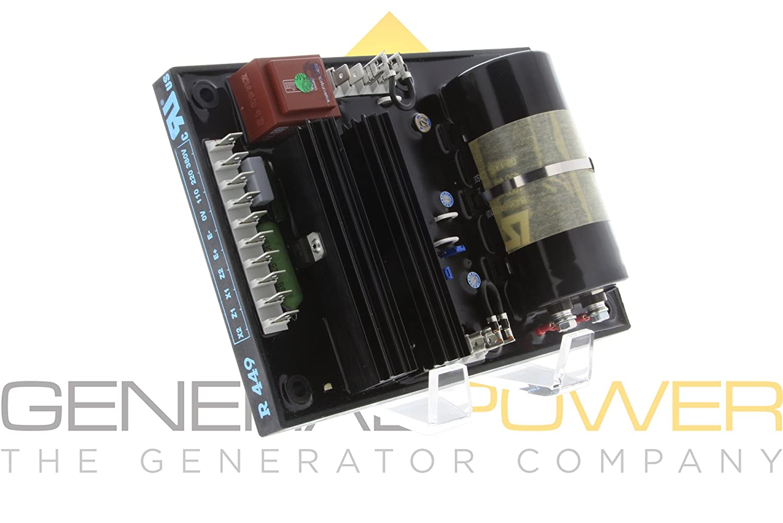 New AVR R449 Automatic Voltage Regulator  for Leroy Somer Generator US