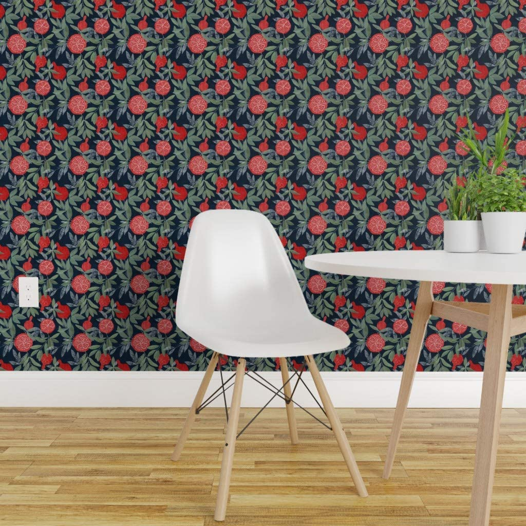 Peel And Stick Removable Wallpaper Pomegranate Home Decor