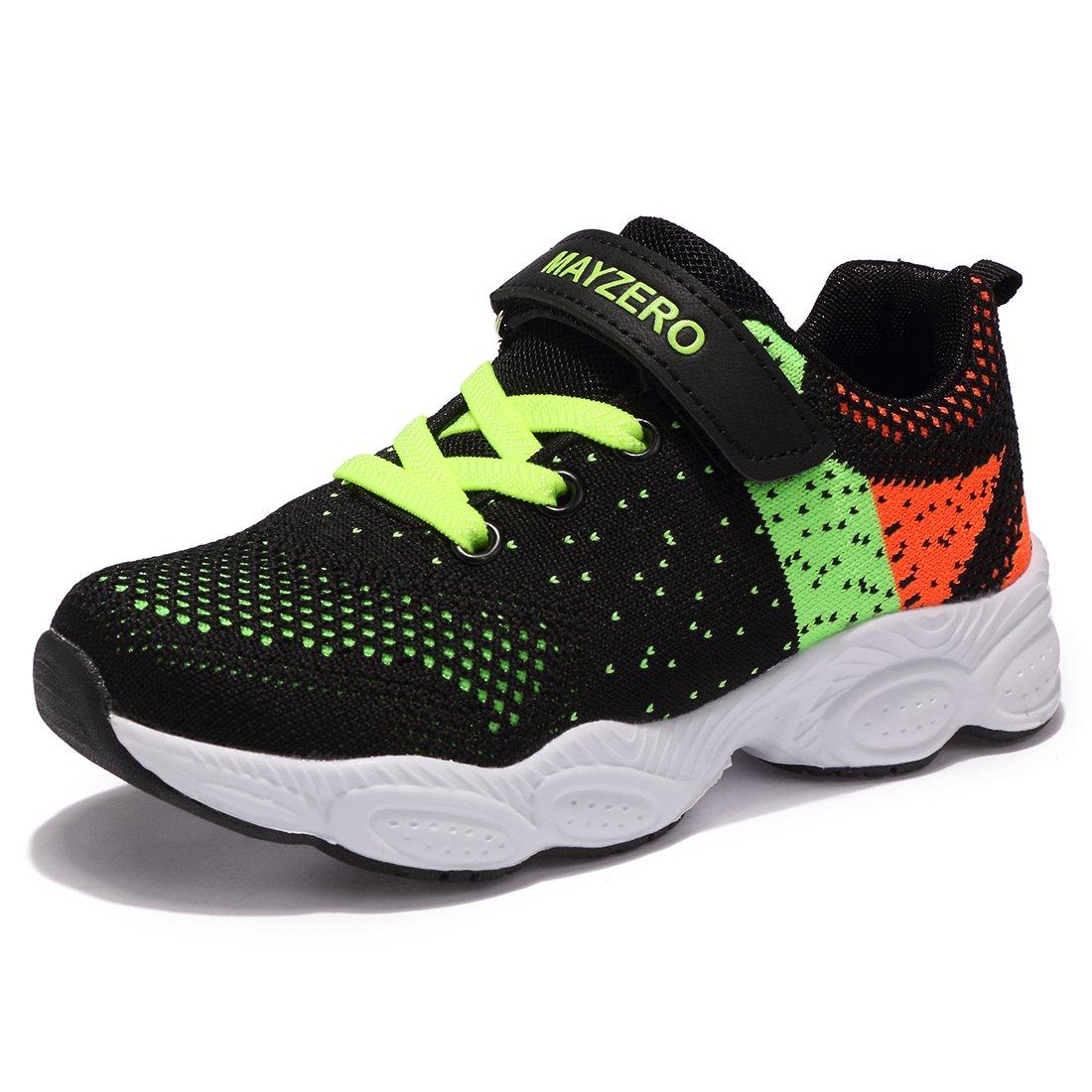 Chaussure de Sports Basket Mixte Enfant Tennis Running Basses Mesh Sneakers pour Fille Garcon