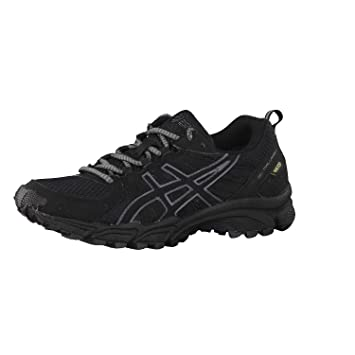e0c52ca296e16d ASICS Damen Laufschuh GEL-TRAIL LAHAR 4 G-TX Goretex Trail-Running schwarz