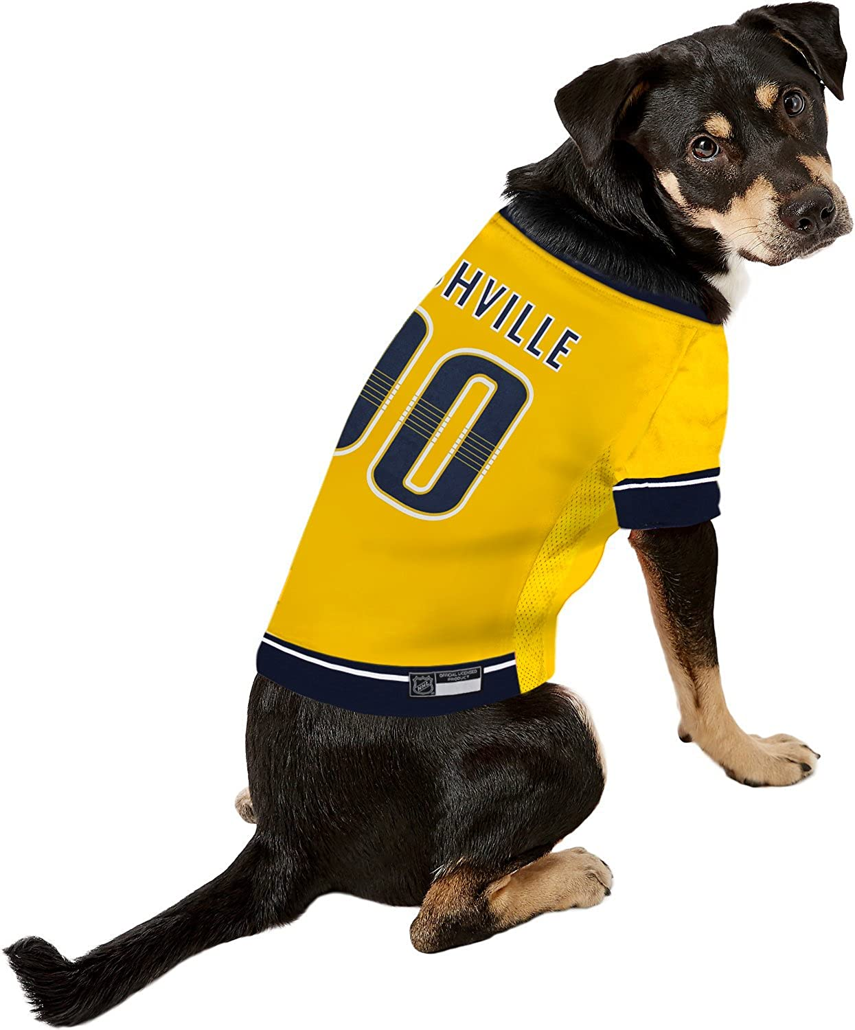 Large Let Your Pet Be A Real NHL Fan! NHL Anaheim Ducks Jersey for Dogs /& Cats