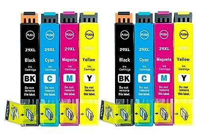 2 Set Compatible Multipack 8 cartuchos de tinta para 29 x l ...