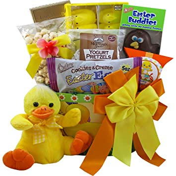 Amazon lucky duck easter gift basket with chocolate and candy lucky duck easter gift basket with chocolate and candy treats negle Images