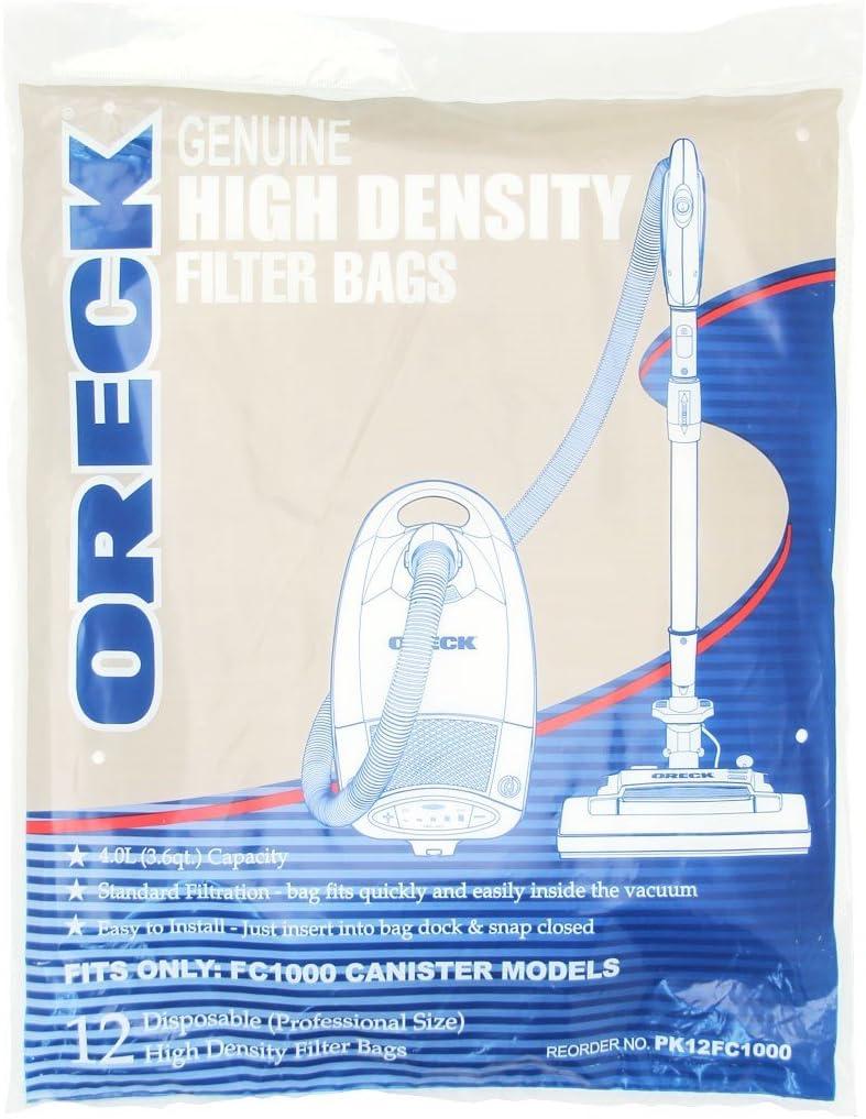 Oreck Quest Pro Bags (12 Pack)