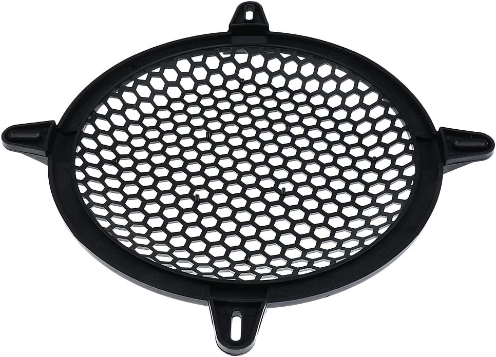MonkeyJack Plastic Speaker Subwoofer Mesh Grill Cover Home Car Audio Parts 8 Inch