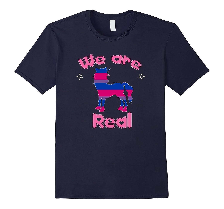 Bisexual Pride - Bisexuality Unicorn and Bisexual Tshirt-CD