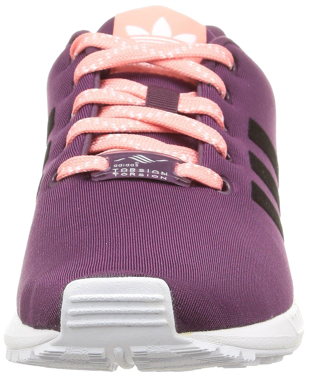 4538dd2a27e10 adidas Women s ZX Flux K Running Shoes Purple Violett (Merlot F15-St Core  Black FTWR White)  Amazon.co.uk  Shoes   Bags