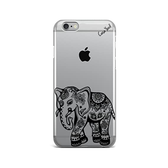 official photos e67ba 89763 Black Elephant Clear TPU Phone Case For iPhone 5/5s, iPhone 6/6s and iPhone  6 Plus/6s Plus (iPhone 6/6s Plus)