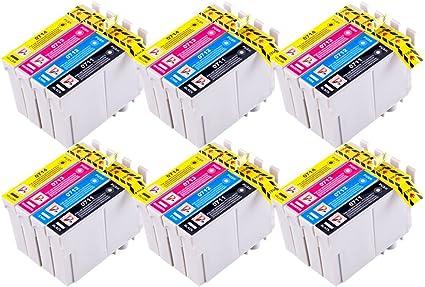 5 Cartucce d/'inchiostro per Epson Stylus D92 DX4000 DX5050 DX6000 DX9400F