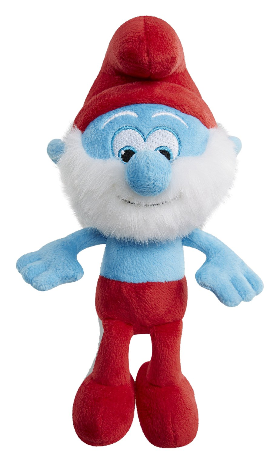 Smurfs The Lost Village Papa Smurf Bean Bag, 8'' by The Smurfs