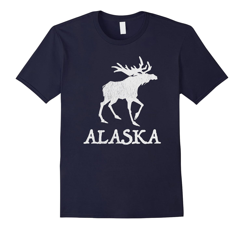 Moose Vintage Alaskan Art Shirt-Art