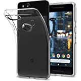 Google Pixel 2 Case, Spigen [Liquid Crystal] [Crystal Clear] Slim Flexible TPU Protection Water Mark Free Premium Design Phone Case Cover for Pixel 2 (2017) - Crystal Clear - F16CS22272