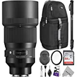 Sigma 135mm f/1.8 DG HSM Art Lens for Sony E Mount Cameras w/Advanced Photo and Travel Bundle