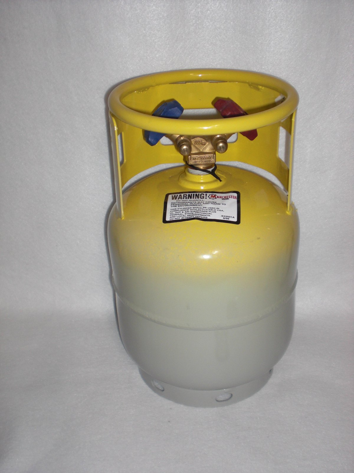 DOT Refrigerant Recovery Cylinder Tank 15lb MADE IN USA