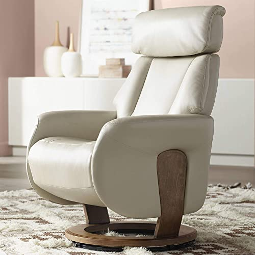 Editors' Choice: Augusta Taupe Faux Leather 4-Way Recliner Chair