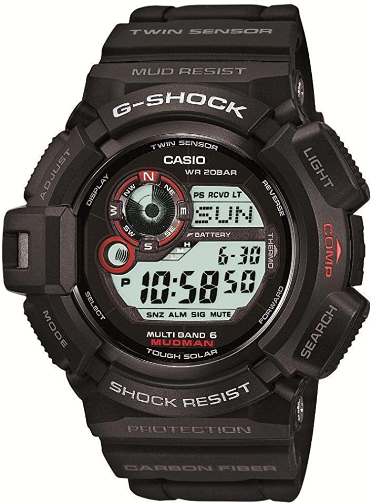 Casio G-shock Mudman Multiband6 Japanese Model Gw-9300-1jf