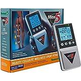 Tesmed Max 5, Elettrostimolatore Muscolare 4 Canali, 12 Elettrodi: Sport, Fitness, Estetica, Addominali