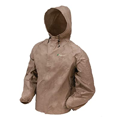 FROGG TOGGS Men's Ultra-Lite2 Waterproof Breathable Rain Jacket: Clothing