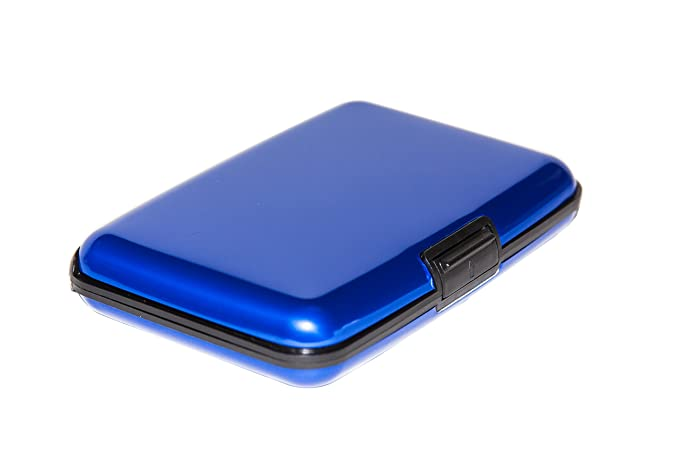 d66d9fd613937 Amazon.com  Aluminum Wallet Credit Card Case - RFID Blocking Case ...