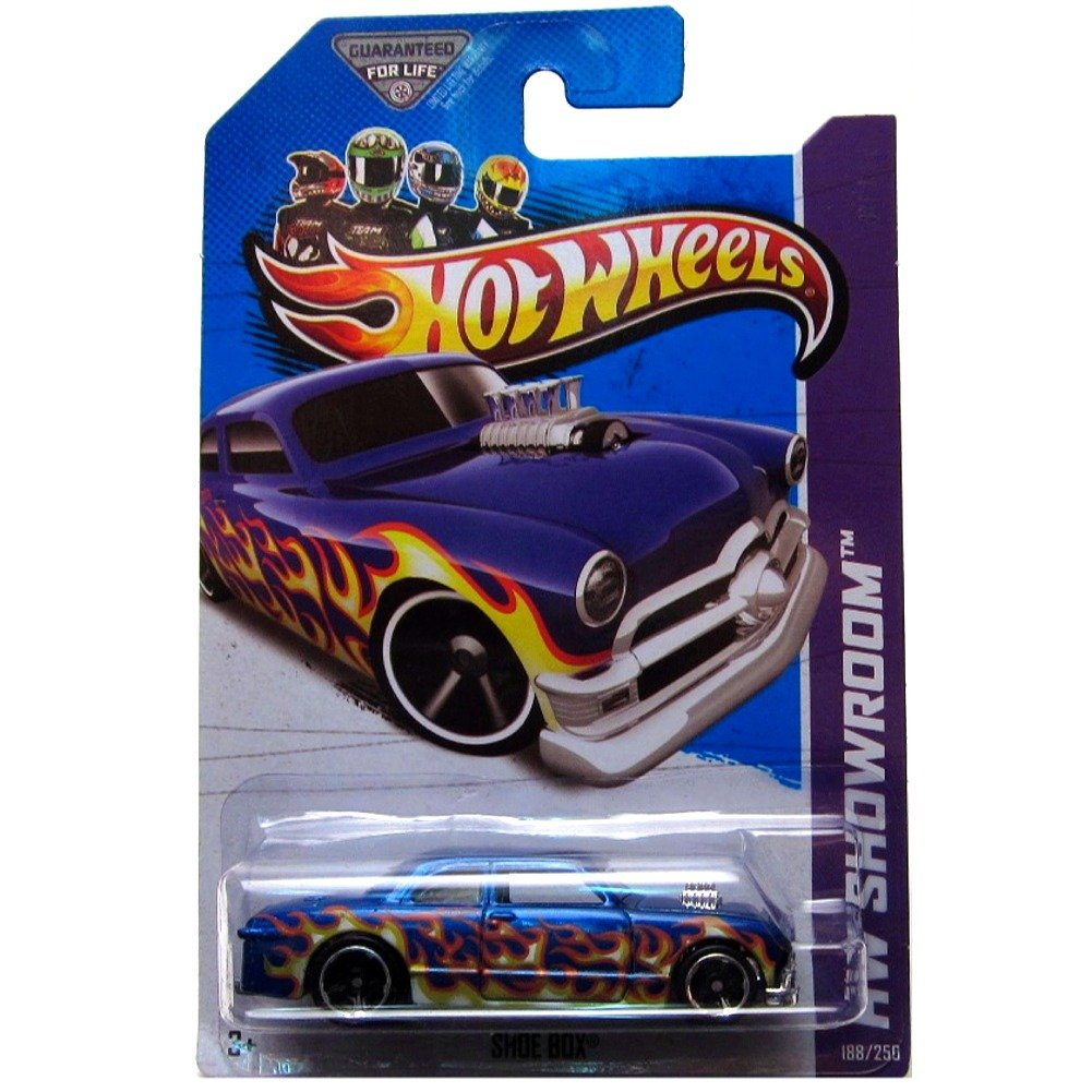 Caja de zapatos azul Hot Wheels HW Showroom 188/250