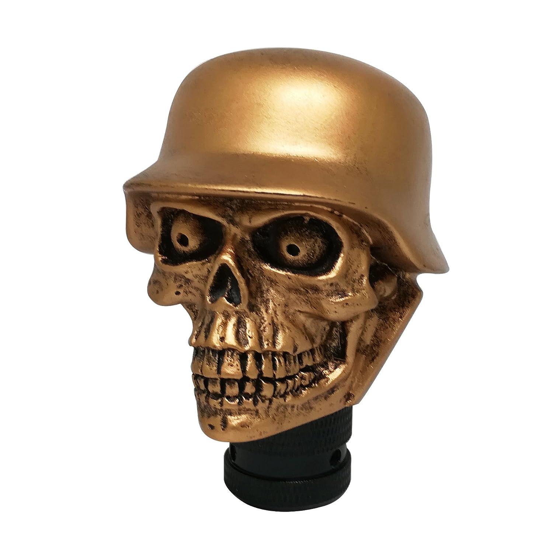Mavota Gold Skull Manual Automatic Gear Shift Knobs